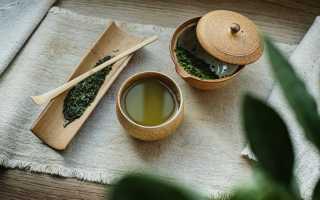 Самый популярный зеленый чай «сенча» из Японии