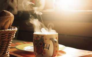 Можно ли пить горячий чай?