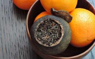 Пуэр в мандарине — искусство чайной отрасли или оригинальный подарок?