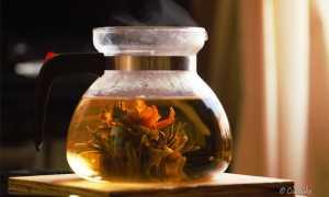 «Связанный китайский чай» — фантастическая чайная композиция