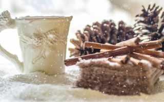 12 простых рецептов согревающего зимнего чая