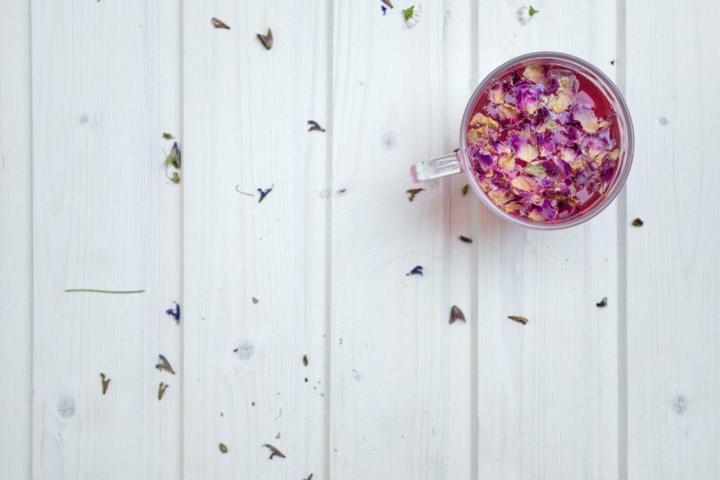 заваривание пурпурного чая