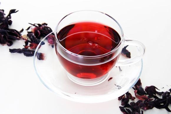 Чашка чая из Гибискуса
