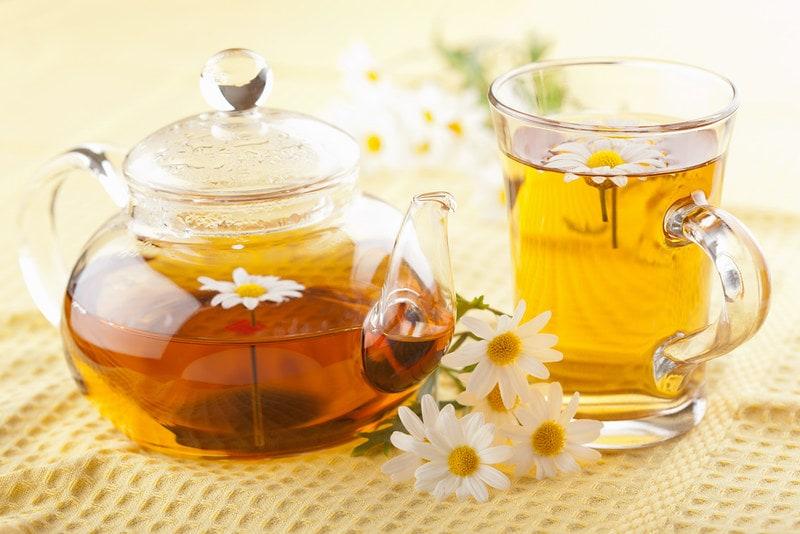 Ромашковый успокоительный чай