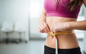 Снижение веса у девушки