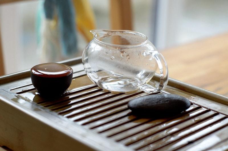 Блин смолы пуэра для чаепития