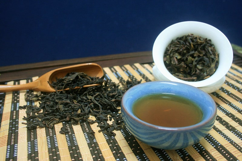 Приготовление чая Да Хун Пао