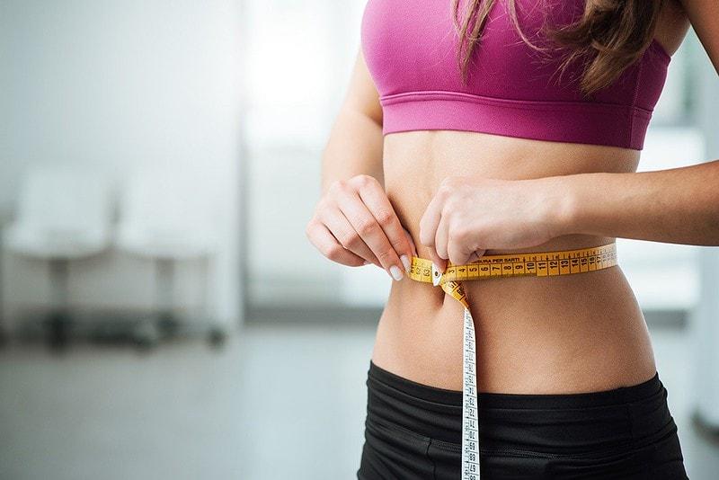 снижение веса на животе