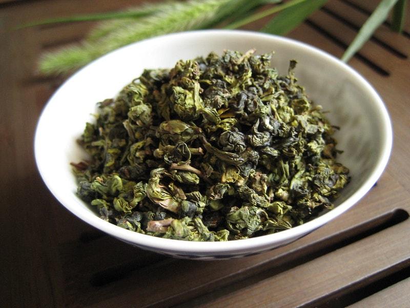 Тарелка чая Те Гуань инь
