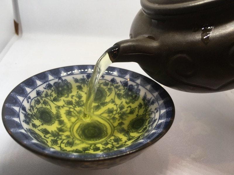 Зеленый чай Ти гуаньинь