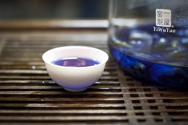пурпурный чай анчан