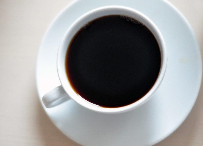 Крепкий черный чай чифир