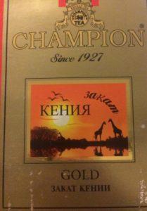 """Кеннийский чай """"Champion"""""""