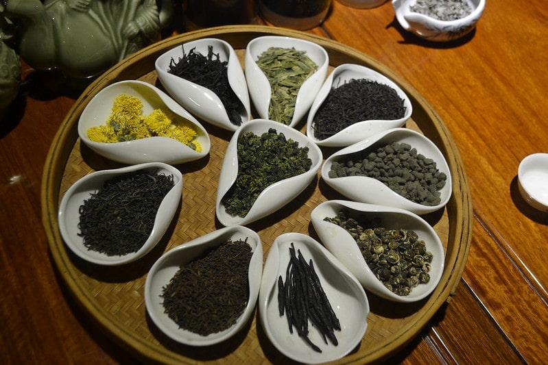 китайские сорта чая