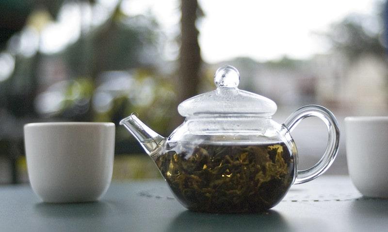 Дун Дин улун в чайнике