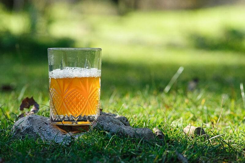 Стакан марокканского чая