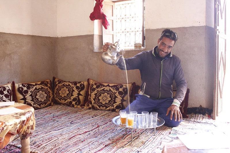 Традиции чаепития Марокко