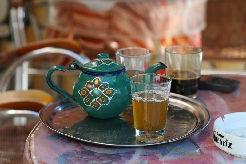 классический марокканский чай