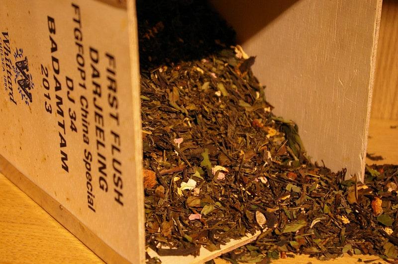 Винтажный чай Дарджилинг