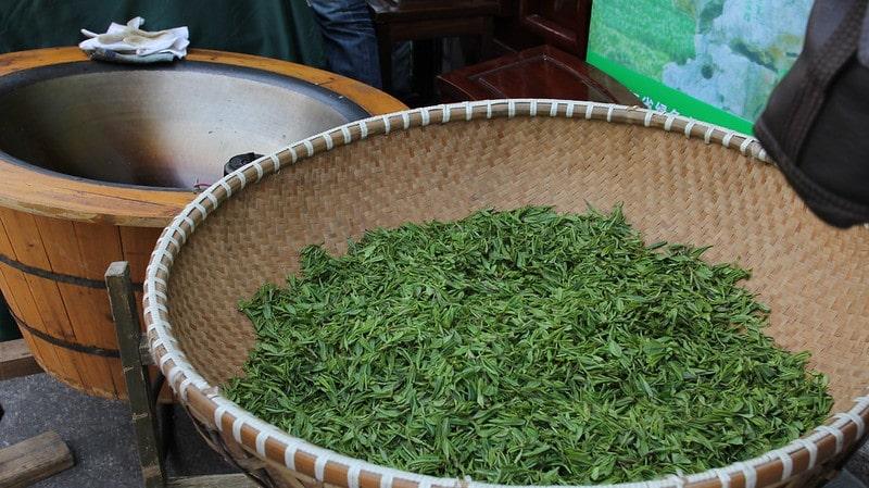 Ферментация чайного листа