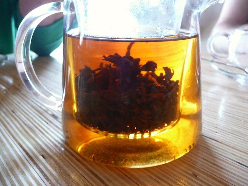 Заваривание чая ассам