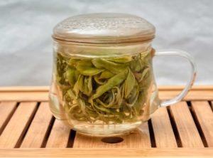 Зеленый крупнолистовой байховый чай