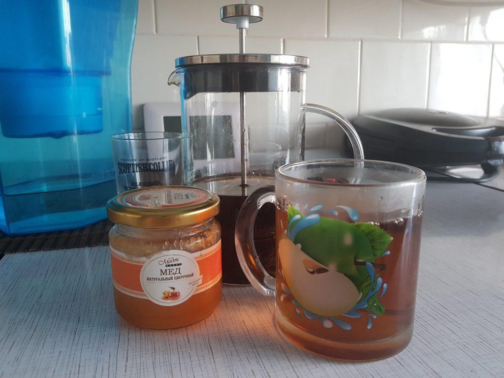 Цветочный мед в чай