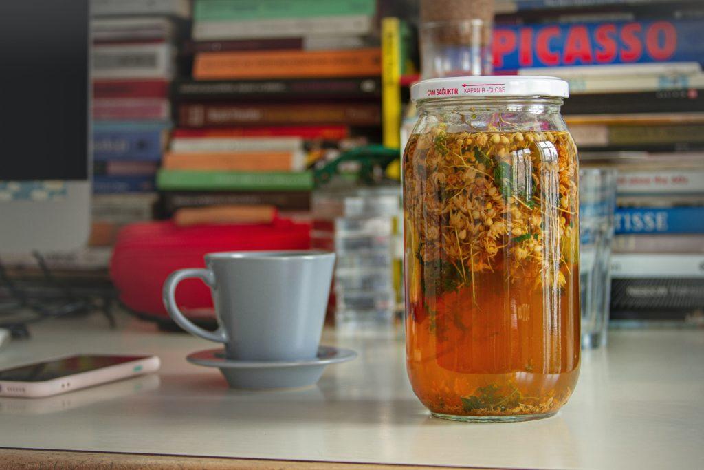 Заваривание липового чая