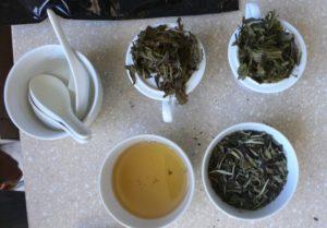 Несколько сортов белого чая