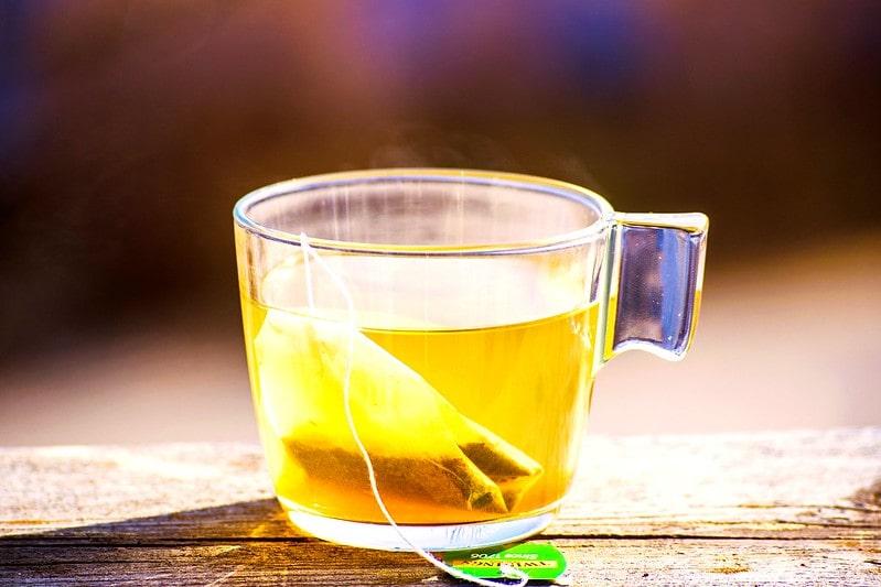 пакетированный зеленый чай