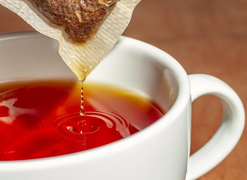 Чай ройбуш красный в кружке