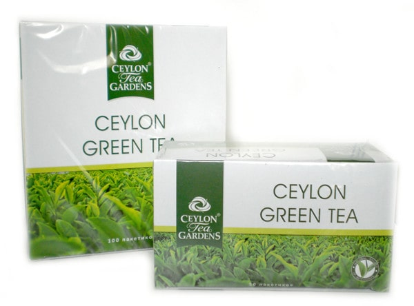 Зеленый цейлонский чай