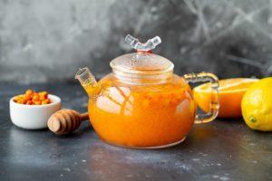 облепиха с цитрусами (чай)