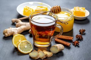 традиционнный имбирный чай