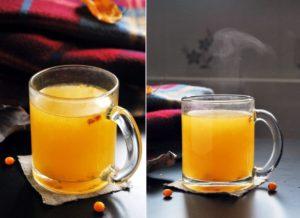 напиток из облепихи (чай)