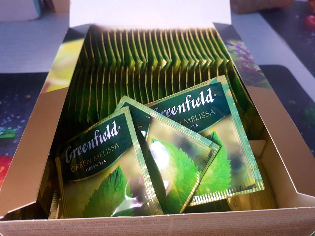 гринфилд зеленый с мелиссой