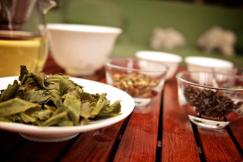зеленый или черный чай
